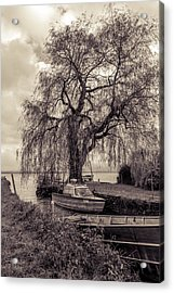 Old Boat Acrylic Print by Marie Sullivan