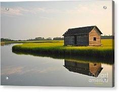 Old Boathouse Acrylic Print
