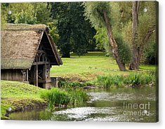 Old Boathouse Acrylic Print by Rick Piper Photography