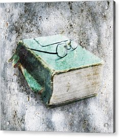 Old Book Acrylic Print by Skip Nall