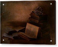 Old Books Acrylic Print