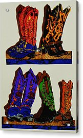 Old Boots Acrylic Print