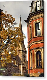 Old Boston Acrylic Print by Joann Vitali