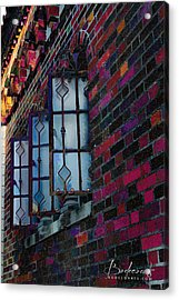 Old Brick Renewed Acrylic Print