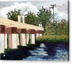 Old Bridge Street Bridge Acrylic Print