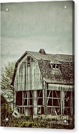 Old Broken Barn Acrylic Print