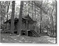 Old Cabin  Acrylic Print by Bob Jackson