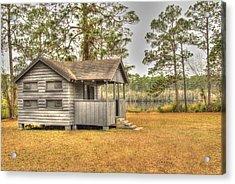 Old Cabin In Georgia Acrylic Print