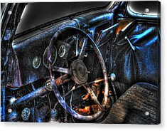 Old Car 02 Acrylic Print by Andy Savelle