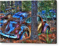 Old Car 04 Acrylic Print by Andy Savelle