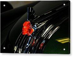 Old Car Emblem 2 Acrylic Print by T C Brown
