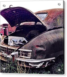Old Car Acrylic Print by Julie Gebhardt