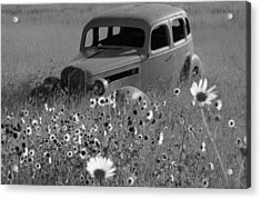 Acrylic Print featuring the photograph Old Car by Leticia Latocki