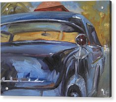 Old Car Acrylic Print by Lindsay Frost