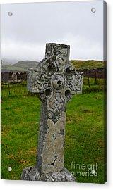 Old Cemetery Stones In Scotland Acrylic Print