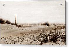Old Charleston Harbor Acrylic Print by Skip Willits