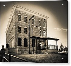 Old Cigar Factory Acrylic Print by Ybor Photography