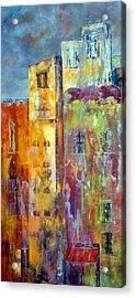 Old City East Acrylic Print by Katie Black