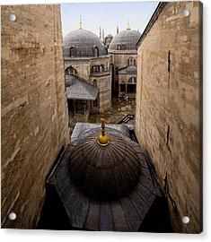 Old City Of Istanbul Acrylic Print by Artur Bogacki