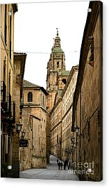 Old City Of Salamanca Spain Acrylic Print