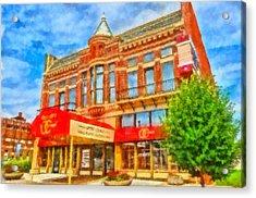 Old City Prime Restaurant Lima Ohio Acrylic Print