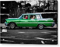 Old Classic Car II Acrylic Print