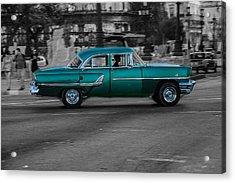 Old Classic Car IIi Acrylic Print