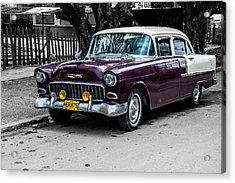 Old Classic Car Iv Acrylic Print