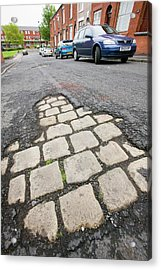 Old Cobbled Street Acrylic Print by Ashley Cooper
