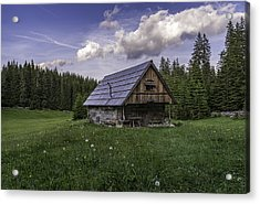 Old Cottage Acrylic Print
