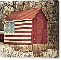 Old Country America Acrylic Print by Trish Tritz