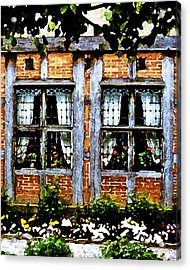 Old Country Charm Acrylic Print
