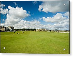 Old Course Fairways Acrylic Print