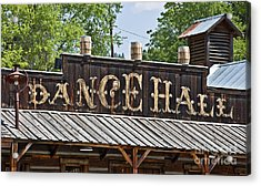Old Dance Hall Acrylic Print