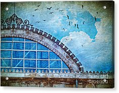 Old Deposit Detail Acrylic Print by Silvia Ganora