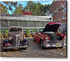 Old Diner Acrylic Print