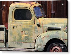 Old Dodge Truck 7d22382 Acrylic Print by Wingsdomain Art and Photography