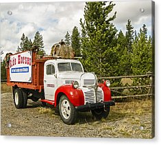 Old Dodge Truck Acrylic Print