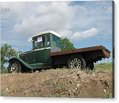 Old Dodge Truck  Acrylic Print by Steven Parker