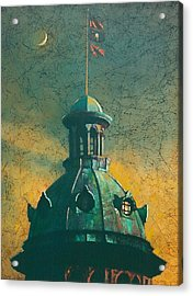 Old Dome Acrylic Print by Blue Sky