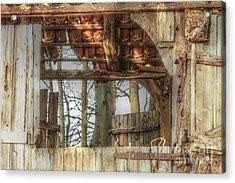 Old Door  Acrylic Print
