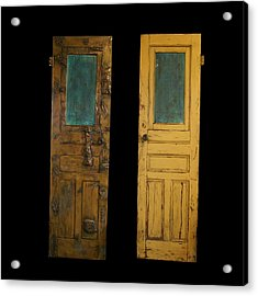 Old Door Acrylic Print