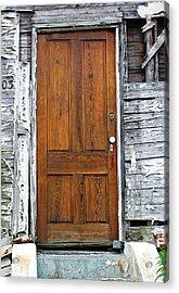 Old Door Acrylic Print by Sarah-jane Laubscher