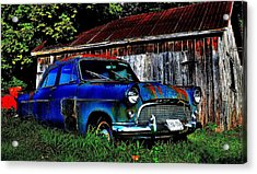 Old Dreams - Perspective 1 Acrylic Print