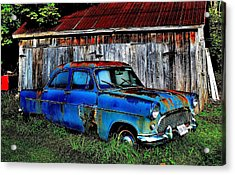 Old Dreams - Perspective 2 Acrylic Print