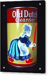 Old Dutch Cleanser Acrylic Print by Pacifico Palumbo