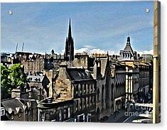 Olde Edinburgh Acrylic Print