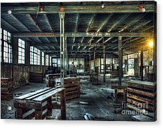 Old Factory Ruin Acrylic Print