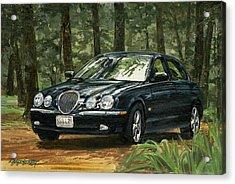 Old Faithful 2000 Jag Acrylic Print
