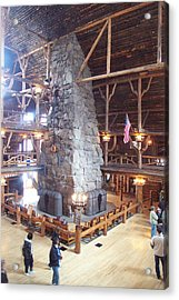 Old Faithful Inn Acrylic Print